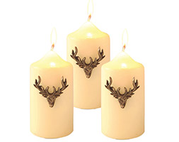Candle jewellery - stag