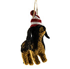 Puppy eco wool decoration