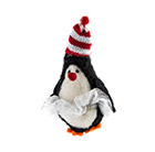 Penguin eco wool decoration