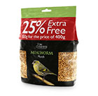 Mealworm munch 400g + 100g extra free