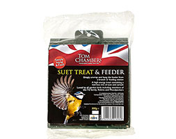 Suet treat with feeder 2 for 1