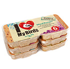 I love my birds suet cakes pack of 6