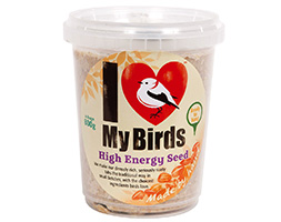 I love my birds high energy seed tubcake