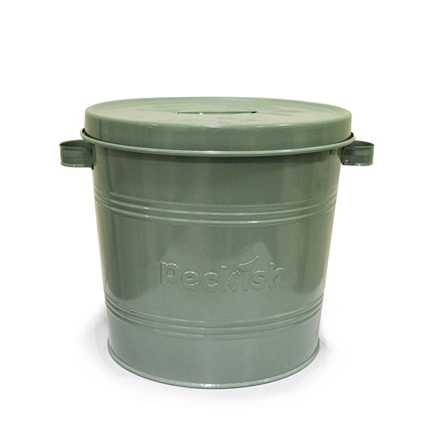 Buy bird food storage tin for Bird food holder